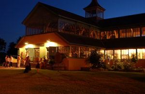 Crystal Palace at the The County of Prince Edward in Picton Ontario bay of quite wedding receptions