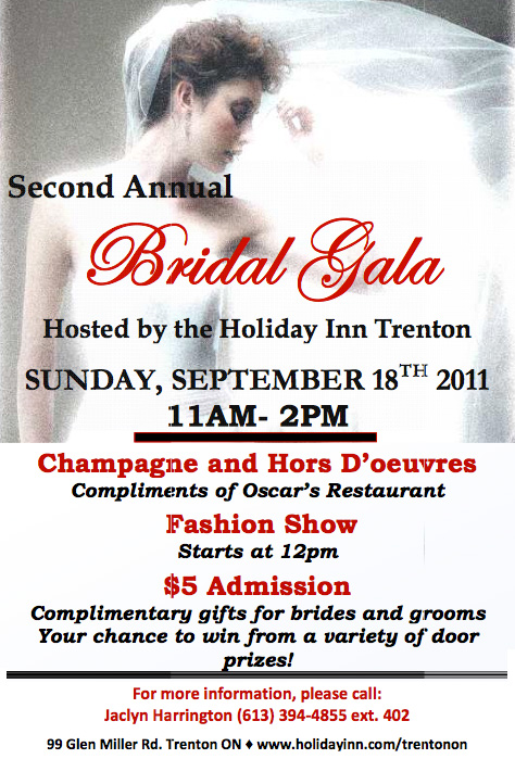 2nd Annual Bridal Gala Trenton